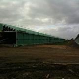 Casa de galinha pré-fabricada da construção de aço com projeto moderno