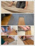 Type en plastique de plancher et plancher de tuiles d'intérieur de vinyle de PVC d'usage