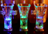 Liquid Customized Activé plastique Light up clignotant Coupes LED