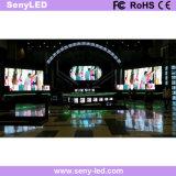 Di evento di prestazione della fase dello schermo video LED parete piena di colore HD (P3.91mm)