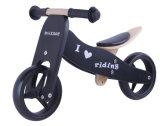 '' bicicleta de madeira 2 do balanço 7 em 1 preto