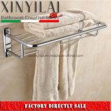 G-1102浴室のアクセサリのクロム版安の真鍮タオルの棚