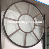 Igu com barra /Double do retângulo que vitrifica a unidade de vidro isolada vidro