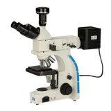 Microscopio metalúrgico de Trinocular del laboratorio (LM-302)