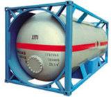 Gas refrigerante R22 R134A en el tanque de la ISO