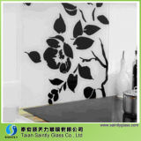 부엌을%s 4mm 5mm Tempered Splashback 유리