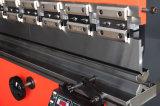 Freio da imprensa hidráulica do CNC Wc67y-80/3200 para a dobra da placa de metal