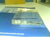 vidro de flutuador do espaço livre do ferro de 8mm baixo
