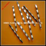 Refuerzo de fibra concreto del carbón, fibra de acero