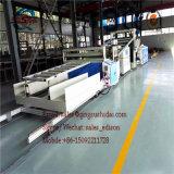 Folha de mármore de imitação do PVC que faz a PVC da máquina o PVC de mármore de imitação da máquina da placa linha de mármore de imitação da extrusão da folha