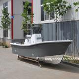 Liya 19ft que pescam o barco do Panga da fibra de vidro do iate para a pesca