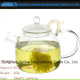 Jogo de chá quente do frasco de vidro de recipiente bebendo do chá