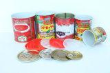 70g enlatado venda por atacado, 210g, 400g, 800g, molho do tomate da pasta de tomate 2200g com boa qualidade