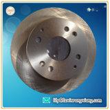 Bâti de fonte grise pour le rotor de frein de camion, disque de frein de camion