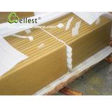 L'alta qualità all'ingrosso smerigliatrice le mattonelle facenti fronte del bordo del raggruppamento beige Bullnose Finished dell'arenaria