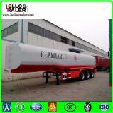 LKW-Schlussteil verwendete 3 Rohöl-Becken-Kraftstoff-Tanker der Wellen-45000L für Verkauf