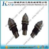 Herramientas Drilling de la fundación de los dientes del punto negro del taladro de roca de Bkh47-22mm