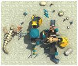 جديات بلاستيكيّة خارجيّة ملعب تجهيز قديم قبيلة [سري]
