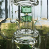 De Toren van de luxe van de Pijpen van Isaac Design Glass Water Smoking (S-GD-272)