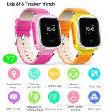 De slimme GPS van Jonge geitjes Drijver van het Horloge met Geassorteerde Beschikbare Kleuren (Y7)