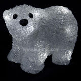 LED 크리스마스 훈장 곰 빛 (L-A-B009)