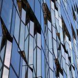 vidro reflexivo do bronze, do cinza, do azul, o verde e o cor-de-rosa de 4mm-10mm