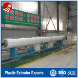 Plastique PE HDPE MDPE Pipe Tube Extrusion Machine