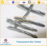 Синтетическое Fibers для Concrete Twisted Bundle PP Fiber 50mm для Cements