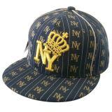 Gorra de béisbol caliente del Snapback de la venta con la insignia levantada Gjfp17153