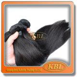 Natürliche schwarze gerade Wellen-malaysische Haar-Extensionen