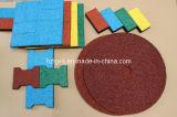 EPDM colorido pontilha a telha de borracha da borracha do tapete da telha de revestimento
