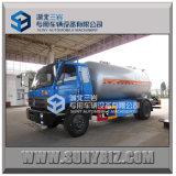 carro de petrolero móvil del gas del LPG de la marca de fábrica de China del tanque de 10000L LPG