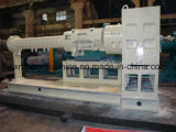 Kälte, die Doppelschrauben-Silikon-Gummi-Extruder-Maschine/Gummiverdrängung-Maschine/Gummistrangpresßling-Maschine führt