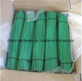 中国語は供給のより安い価格のPVCによって塗られるまっすぐな切口の鉄ワイヤーを指示する