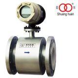 LCD Display Hart-Protokoll PTFE Futter Elektroden 316L Ausgangssignal Elektromagnetische Durchflussmesser