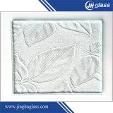 vidrio de modelo claro del flotador de 3mm/4mm/5mm/6m m para el sitio de ducha