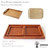 Поднос Hongdao изготовленный на заказ деревянный с несколькими типов Wholesale_L