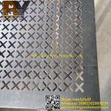 Überzieht perforiertes Metallineinander greifen des Edelstahl-304 Blätter