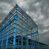 Stahlkonstruktion-Lager aufgebaut bei Ghana