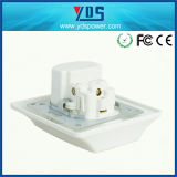 High Quality New Design Power Electrical Outlet UNIVERSAL SYSTEM BUS Wall Socket