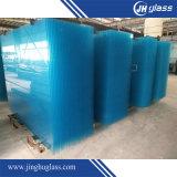 vidrio teñido verde de cristal ultra claro claro plano del vidrio de 3m m - de 10m m para el edificio