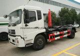 La alta calidad de 12 ruedas de T 6 brazo de gancho de leva de 12 metros cúbicos cae el carro de basura