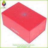 Boîte de papier rouge à thé d'emballage de cadeau avec l'aimant