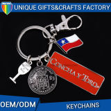 Metal de encargo Keychain de la manera promocional al por mayor del regalo