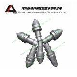 Outil conique en carbure de tungstène Godet de forage à roche Double Cut Betek Bit Pièces d'usure de foret rotatif