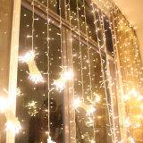 ホームWindowsの園遊会の結婚式の休日の装飾のためのLEDのカーテンストリングライト