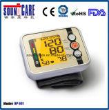 Mètre de pression sanguine de 99 mémoires avec l'homologation de FDA de la CE (BP601)