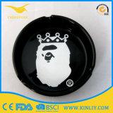 Il portacenere che non dà fumo di ceramica poco costoso personalizza il portacenere del sigaro della Tabella