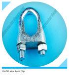 Collier de câble malléable en gros de câble métallique DIN741 de la Chine
