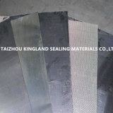 (KL1002) Hoja comprimida reforzada de la junta del grafito